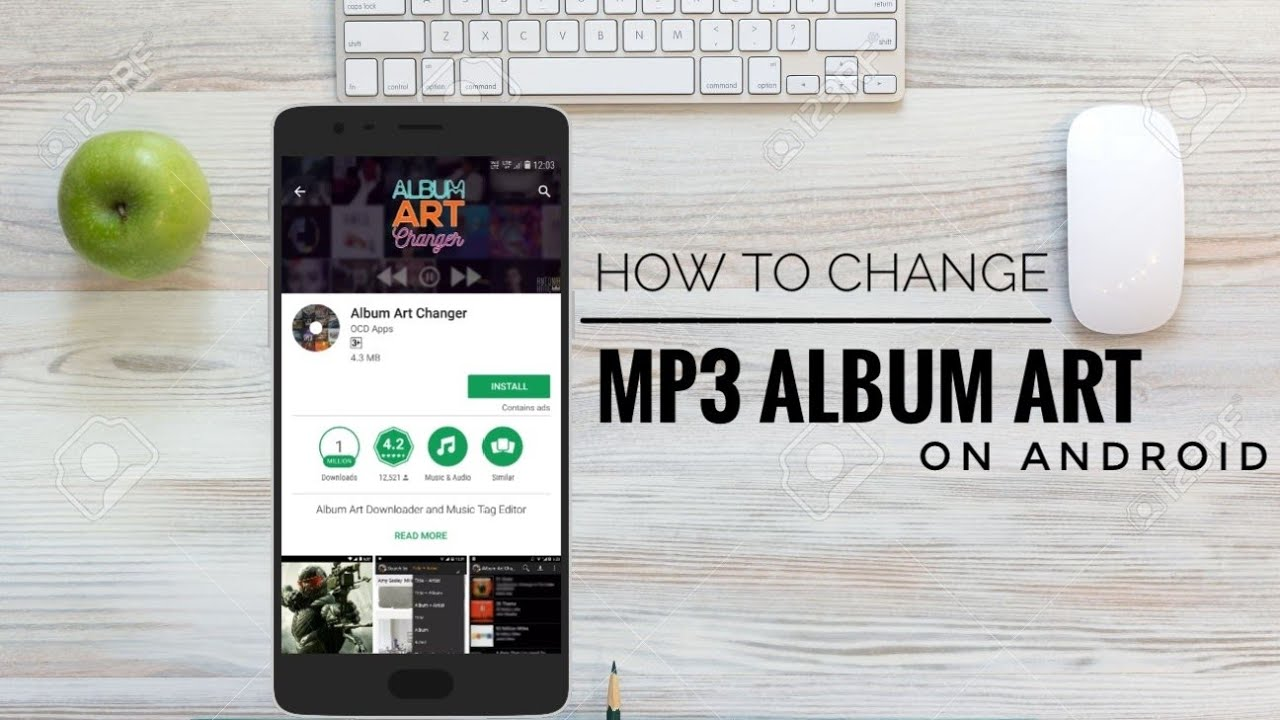 Change album art of songs on Android