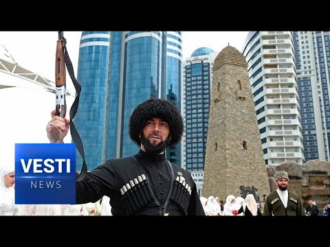 After Decades of War, Russian-Restored City of Grozny Celebrates Mass Wedding on 200th Anniversary