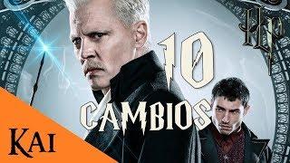 Los Crímenes de Grindelwald 10 CAMBIOS DEL CANON