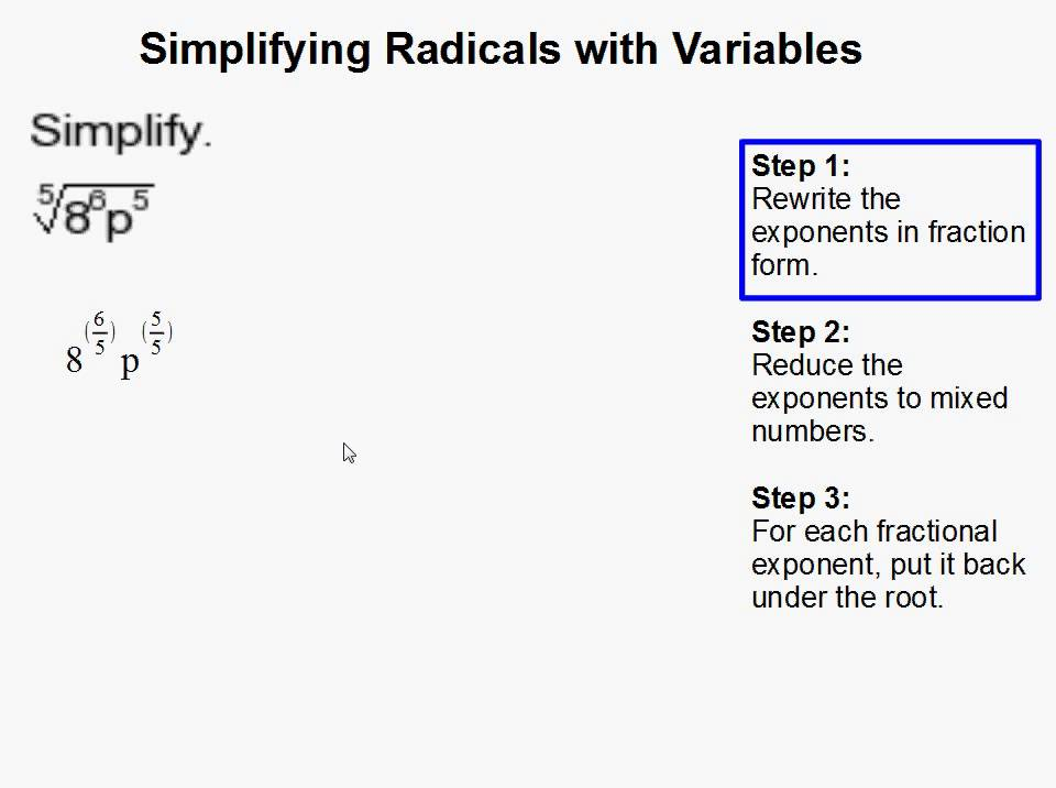 Simplifying Radicals Expressions Worksheets as well Simplifying Radicals Worksheet No Variables Worksheets for all further Simplifying Radical Expressions with Variables Worksheet  Math further How to Simplify Radicals with Variables   YouTube moreover Simplifying Radicals Worksheet  Simplifying Radical Expressions with also Slope Of Line Picture Simplify Radicals Worksheets Simplifying together with Alge 1 Worksheets   Radical Expressions Worksheets further Simplifying Radicals Worksheet Simplify For Multiplying Worksheets besides simplifying radicals worksheet 1 answers with work   free printables besides  together with Best Of Simplifying Radical Expressions Worksheet Alge 2 Alge as well Free Worksheets Liry   Download and Print Worksheets   Free on further Grade Worksheet   Simplifying Radical Expressions Worksheet Picture moreover Excel Simplifying Radicals Worksheet Simplifying Radical Equations also Alge 1 Worksheets   Radical Expressions Worksheets as well . on simplifying radicals with variables worksheet