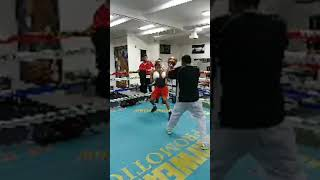 Floyd Mayweather Giving Young Devin Haney Advise Live FB Recording
