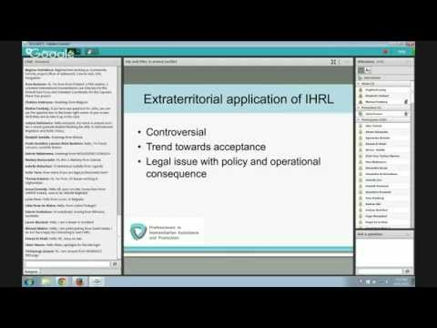 OLS HLP 8: International humanitarian law and human rights law in armed conflict