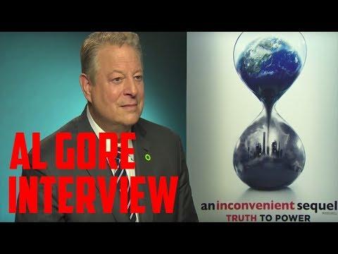 Al Gore Interview - An Inconvenient Sequel: Truth to Power