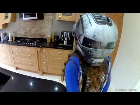 WAR MACHINE. Iron man helmet review.