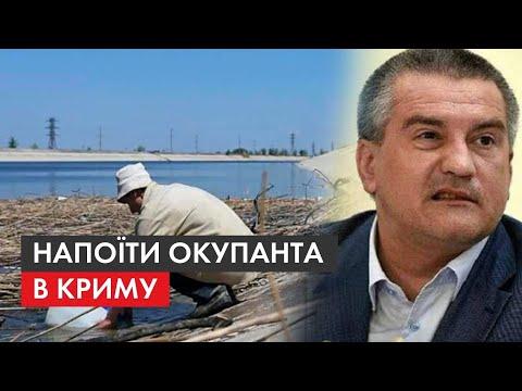 Затьмарює красу 'русского міра': як виглядає Крим без води та чи готова Зе-влада напоїти півострів - Видео онлайн