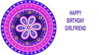 Girlfriend   Indian Designs - Happy Birthday