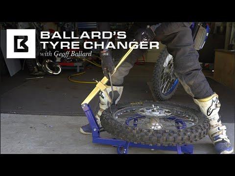 Understanding The Benefits Of The Ballard's Tyre Changer   MXstore.com.au