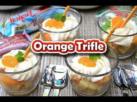 Lemon Inipit Orange Trifle Recipe by Filipino Recipes Portal