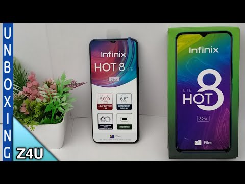 Infinix hot 8 lite Unboxing and Review ||2GB Ram/ 32GB Rom||