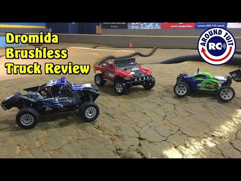 Dromida 1/18 Brushless 4WD Truck Review: Around Tuit RC