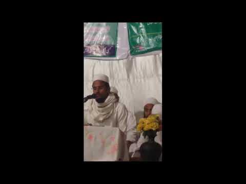 Shaik Qari Abdul waheed   Qirat jama waqfi in anjuman sawtul quran deoband