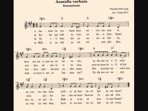 Aamulla Varhain (Early One Morning)  - Dilbèr & Timo Korhonen