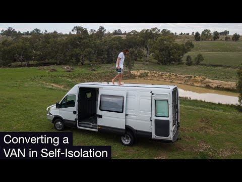 Building an Off-Grid Tiny House in Self Isolation | Van Conversion Australia | Ep 1