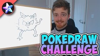 WHAT HAVE I CREATED 😂 - PokeDRAW CHALLENGE #2