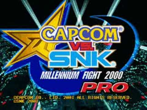 Capcom vs SNK Pro: SFII Ryu's theme Remix