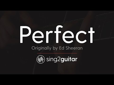 Perfect (Acoustic Guitar Karaoke) Ed Sheeran