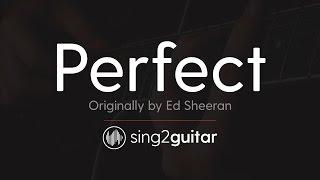 Perfect (Acoustic Guitar Karaoke) Ed Sheeran