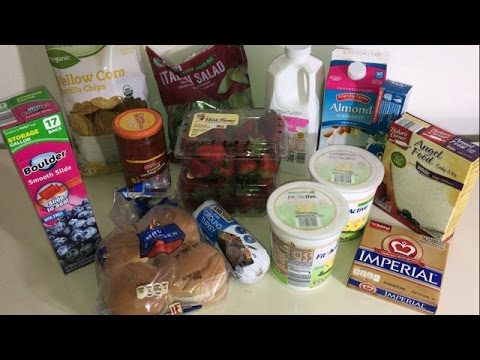 27 aldi haul with smart points losing weight on a budget youtube. Black Bedroom Furniture Sets. Home Design Ideas