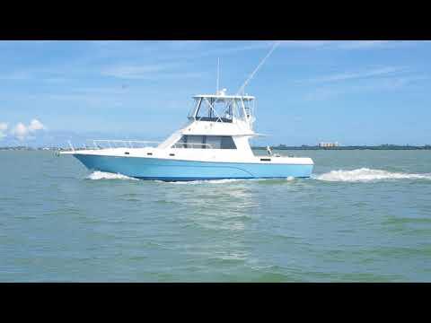 Gypsy Tour Boats' Caribbean Soul 50' Sport Fish