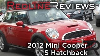 2012 Mini Cooper S Hatchback Review, Walkaround, Start Up, Test Drive