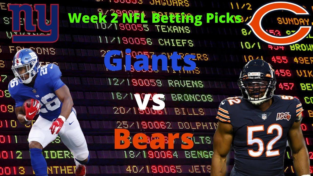 giants vs bears betting prediction