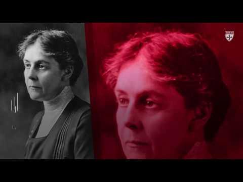 Alice Hamilton: Harvard's first lady