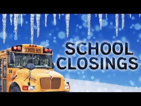 school closings and delays - school closures and delays