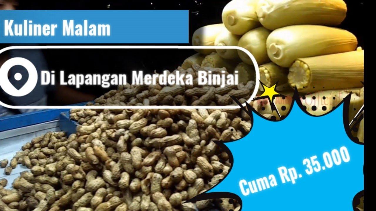 Modal Kuliner Rp.35.000 Dapat Kebab Ayam, Jagung & Kacang Rebus, Kembang Gula Di Lp. Merdeka Binjai