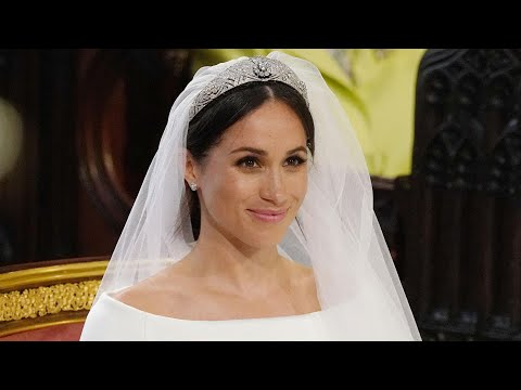 Meghan Markle Recalls How the Queen Helped Her Pick Out Wedding Tiara