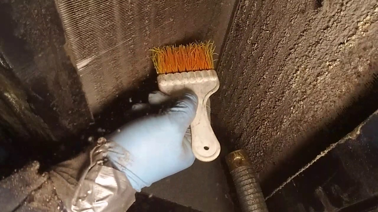 Indoor Coil Cleaning