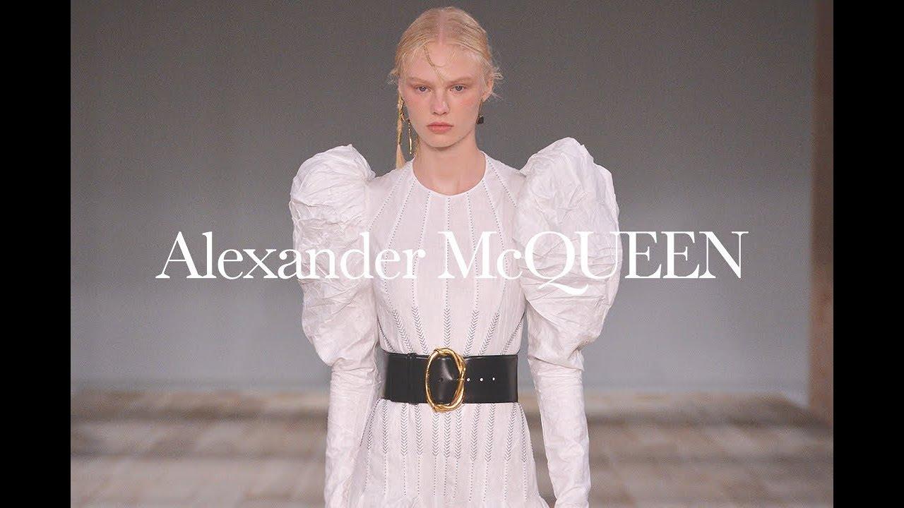 buy popular 140d1 e806e Alexander McQueen | Womenswear Spring/Summer 2020