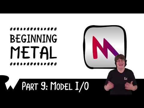 Model I/O  - Swift, Xcode, and iOS - raywenderlich.com