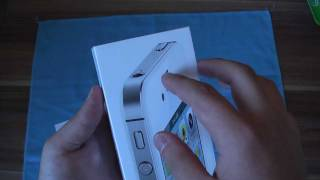 iPhone 4S 16GB White Unboxing [German/Deutsch](NEUER KANAL: http://www.youtube.com/touchbennynew Ich war erster in der schlange beim Münchner Apple Store. Ihr werdet mich wahrscheinlich heute ..., 2011-10-14T09:20:01.000Z)