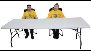 Стол складной кемпинговый F240(Большой прочный стол для очень большой компании !!! F240 - стол предназначенный для отдыха на природе компание..., 2015-02-07T14:03:00.000Z)