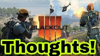 COD BLACKOUT IMPRESSIONS! BETTER THAN PUBG & FORTNITE!