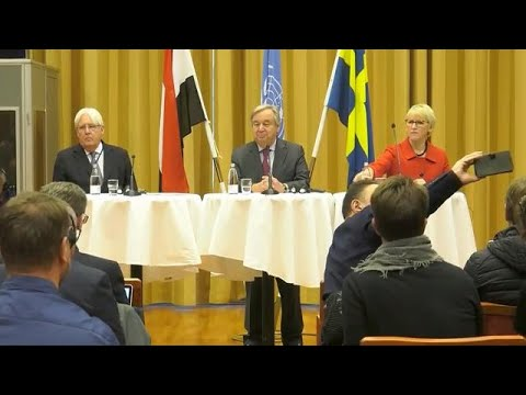 Un Chief on the situation in Yemen - Press Conference (13 December 2018)