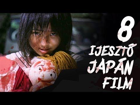 8 Kötelező Ijesztő JAPÁN Film