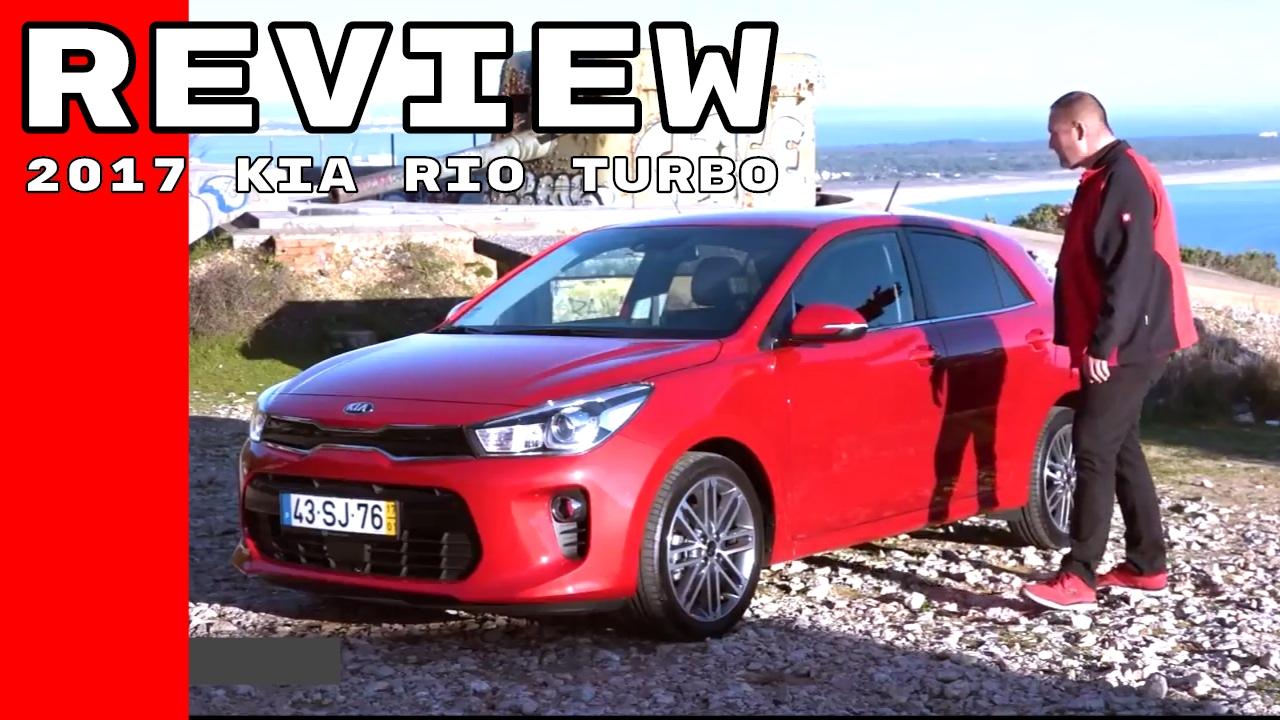 2017 Kia Rio Turbo Review Youtube
