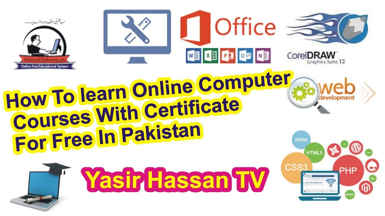How To Learn Online Computer Courses With Certificate For Free In