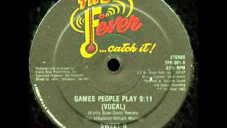 Sweet G   Games People Play 1983