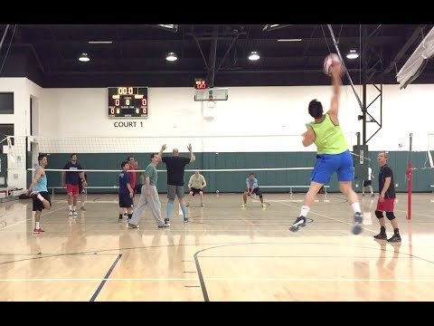 Open Gym Volleyball Highlights (Part 1/2) - 5/12/16