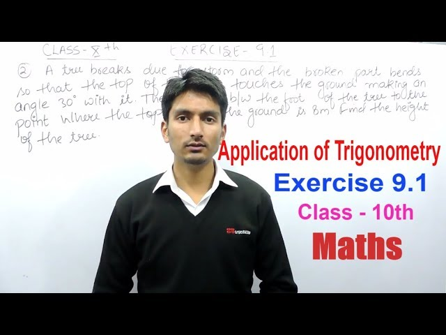 Chapter 9 Exercise 9.1 Q 2 - Some Applications of Trigonometry Class 10 maths - NCERT Solutions