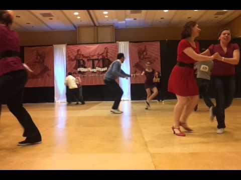 Intermediate Jack & Jill --Boston Tea Party Swing 2012