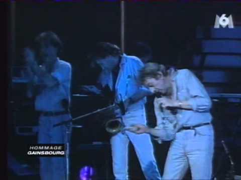 GAINSBOURG - Love On The Beat (Casino de Paris 1986)