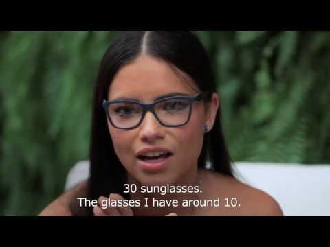 Lu Tranchesi Interview Adriana Lima At Vogue Eyewear Live Stream March 18, 2015