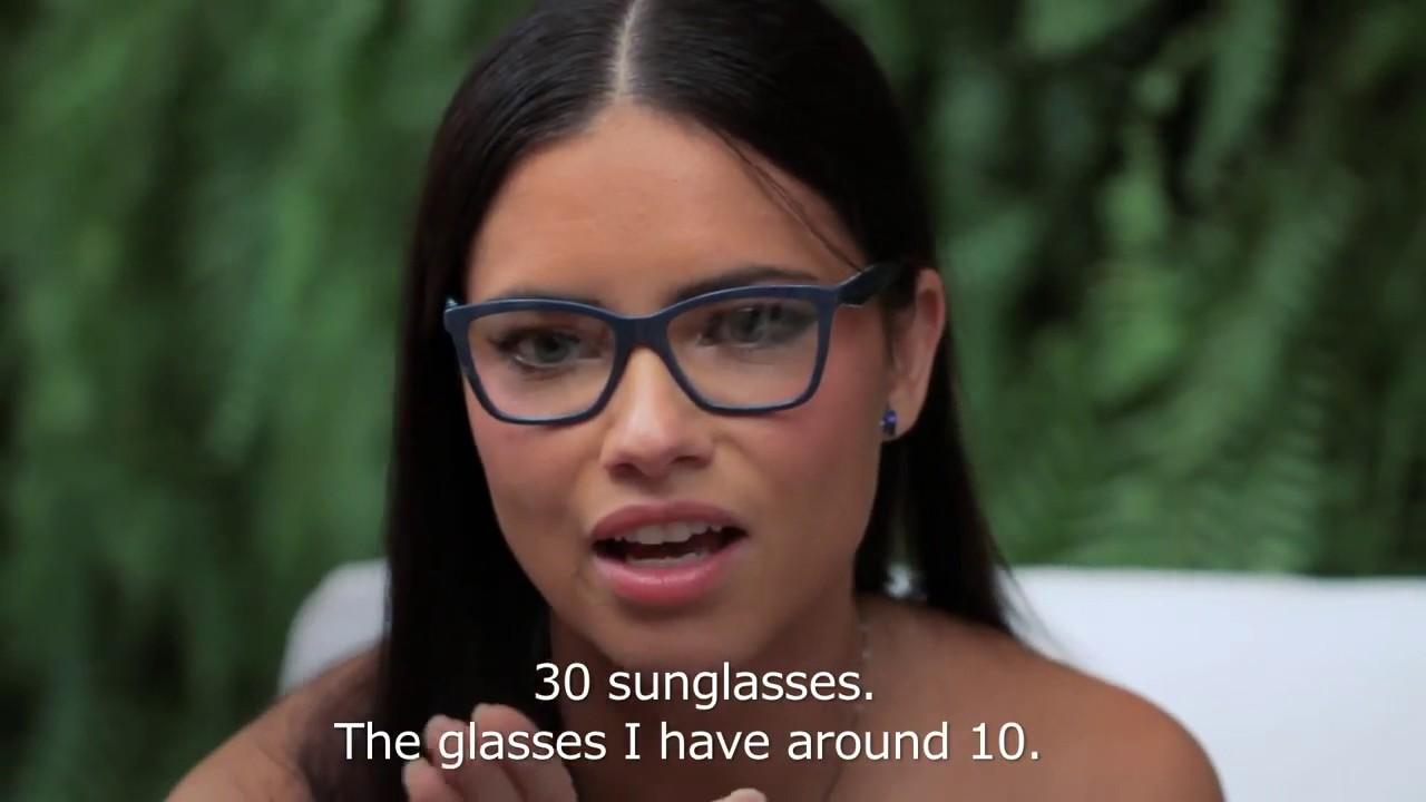 464d91b4e58 Lu Tranchesi Interview Adriana Lima At Vogue Eyewear Live Stream March 18