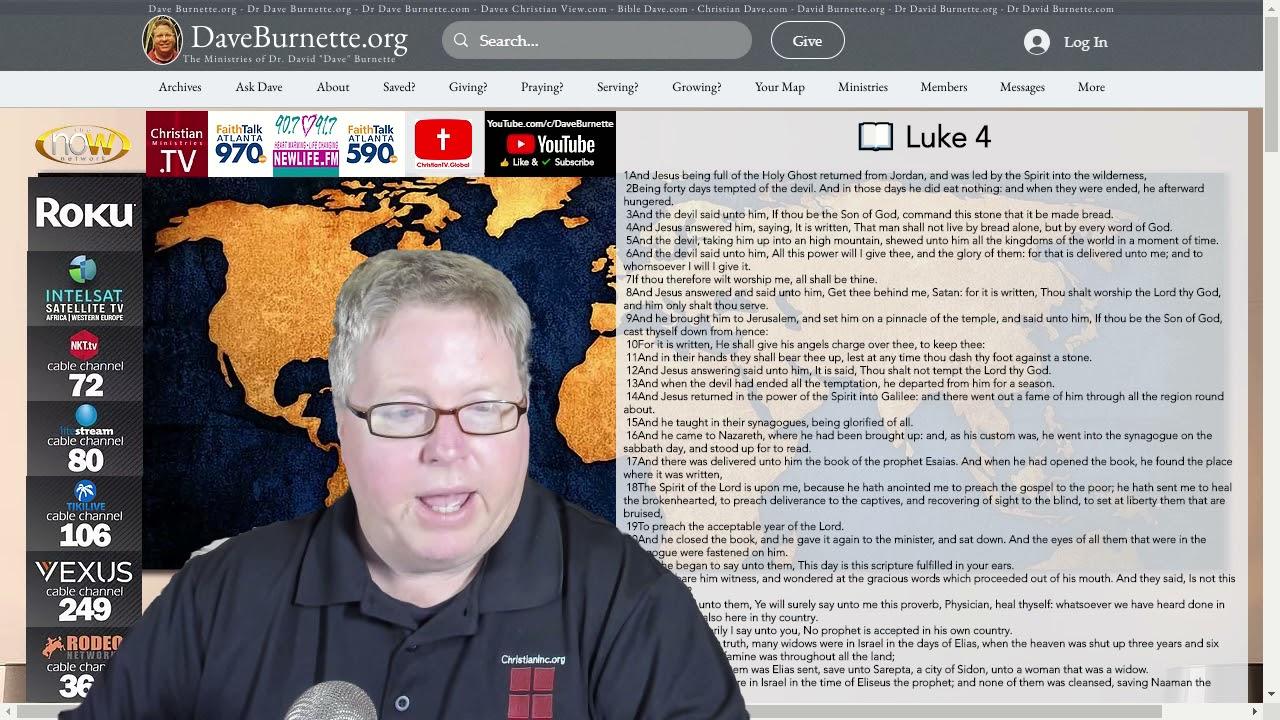 Luke 4 ✒️ Overcoming the Enemy