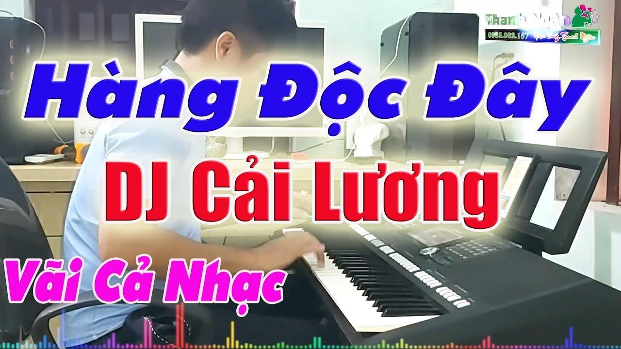 Cải Lương Phối Remix DJ | Bến Sông Chờ  - Độc Và Lạ Của Nhạc Sống Thanh Ngân