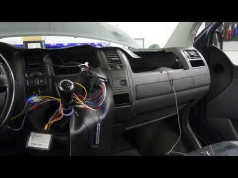 VW T5 Caravelle - navigace Kenwood , subwoofer Blaupunkt
