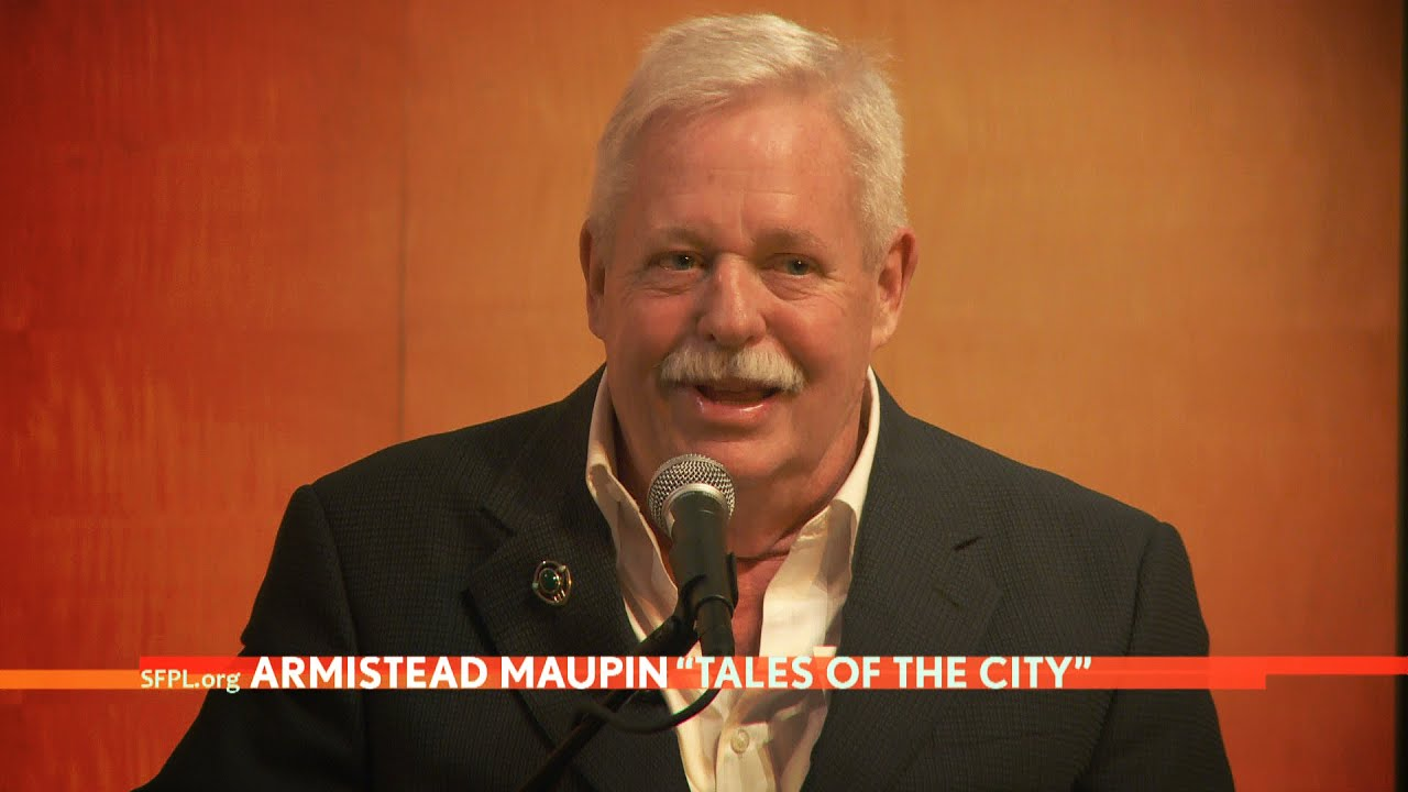 Armistead Maupin at the San Francisco Public Library - YouTube